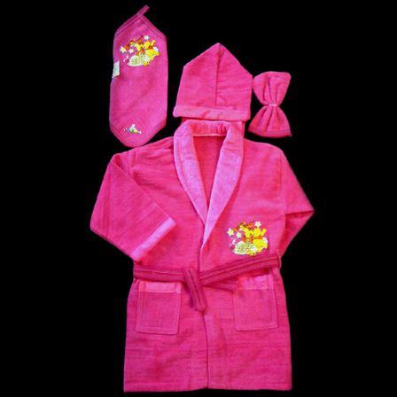 قیمت خرید حوله لباسی دخترانه طرح دار